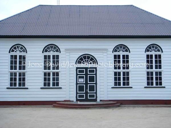 SURINAME, Paramaribo. Former Sedek Ve Shalom Synagogue (2007)