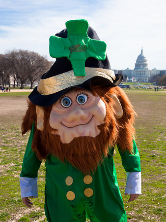 St. Patrick's Day Parade in DC (2011)