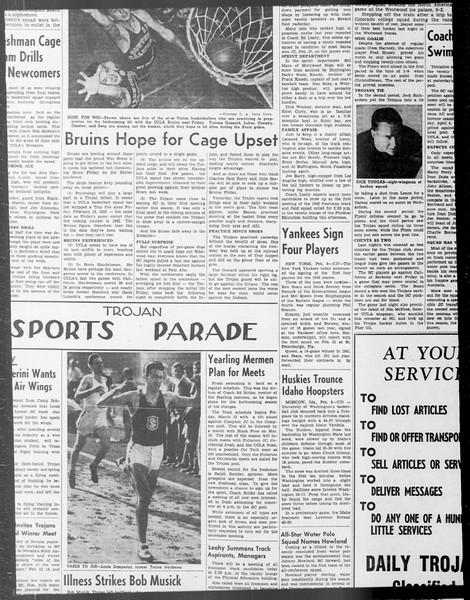 Daily Trojan, Vol. 33, No. 70, December 25, 1941