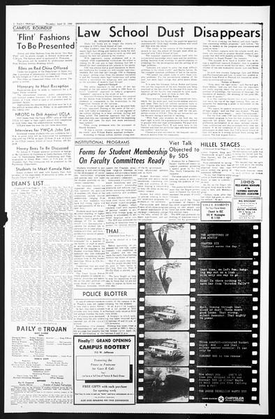 Daily Trojan, Vol. 57, No. 106, April 21, 1966