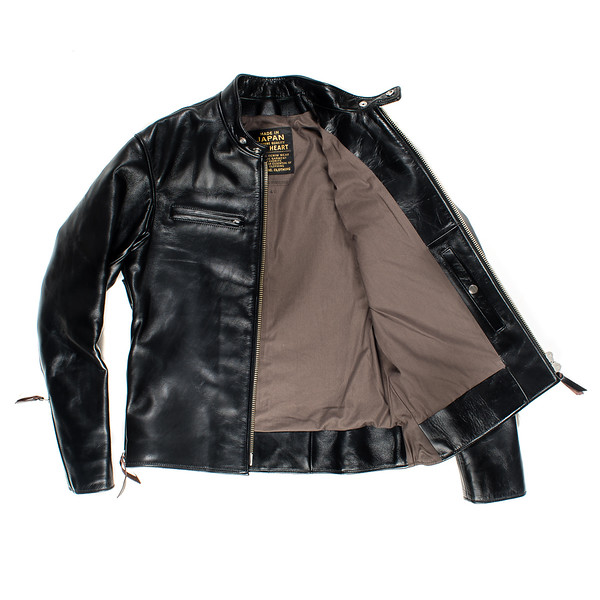 IHJ-35 - Black Japanese Horsehide Rider's Jacket08 copy.jpg
