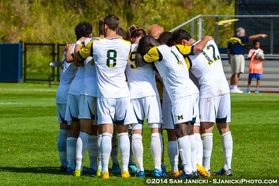 2nd Half of UM Men's Soccer Vs Penn State 9-28-14