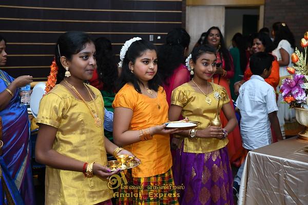 Anreeya Nantheeswaran's Bharathanatya Salangai Poojai