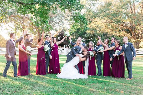 Caleb + Megan | Wildberry Farm Fall Wedding
