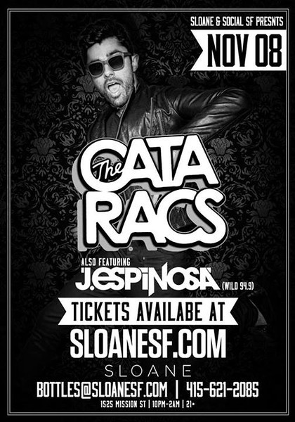 The Cataracs @ Sloane 11.8.13