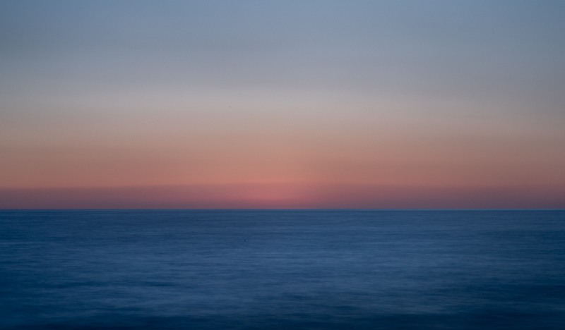 January 8 - Sunset over the Pacific Ocean, a minimalist view.jpg