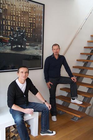 Thuis bij… Paul Verstraeten & Leo Bontje