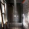 Interior of a modern shower