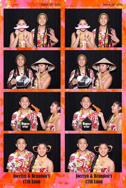Jocelyn & Brandon's 17th Luau
