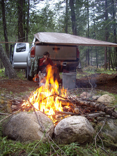 Memorial Day weekend 2008.  First weekend of the year on the property.  Cleared some more trees, and quickly realized that there is no way we'll be able to burn all of the slash piles. Might have to rent a wood chipper.
