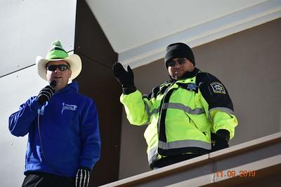 North Adams Cop on Top