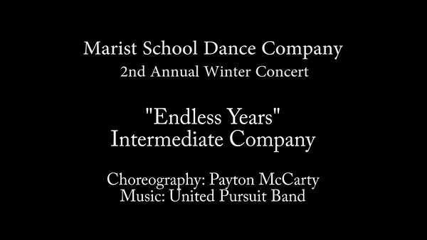Endless Years by Intermediate Company - Marist 2016.mp4