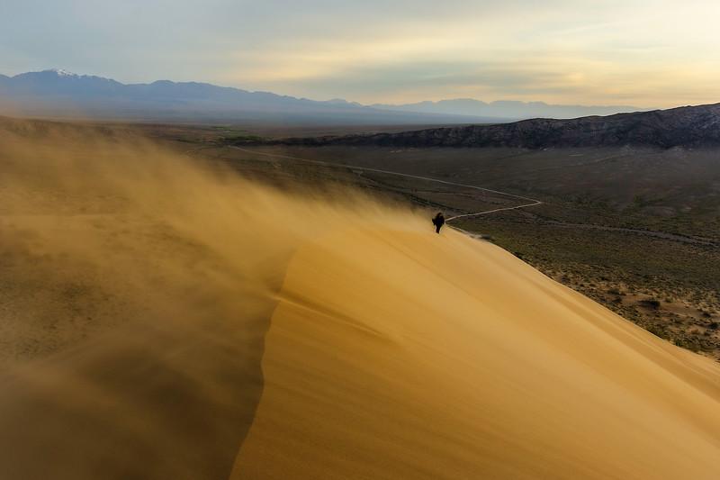 Through the sandstorm