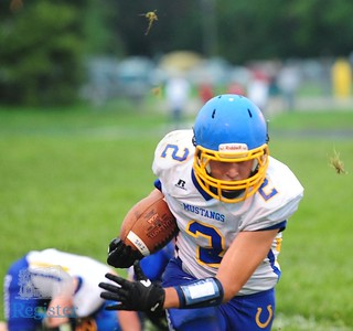 Iola football at Wellsville 9/7