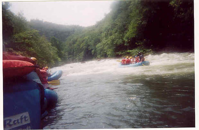 Ocoee Rafting June 30 2002