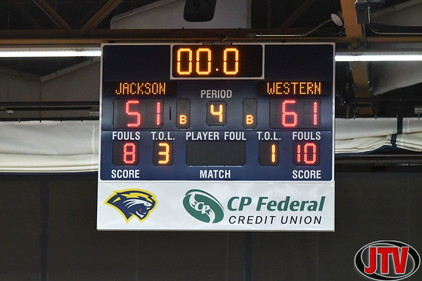 Jackson vs Western Boys Basketball 1-3-20