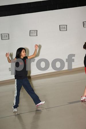 Girls 45-Lexington 2 vs Odessa Rotary Club 1-10-09