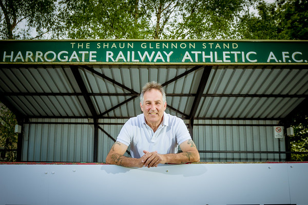 Brian Davey - Harrogate Railway Manager 2018/19