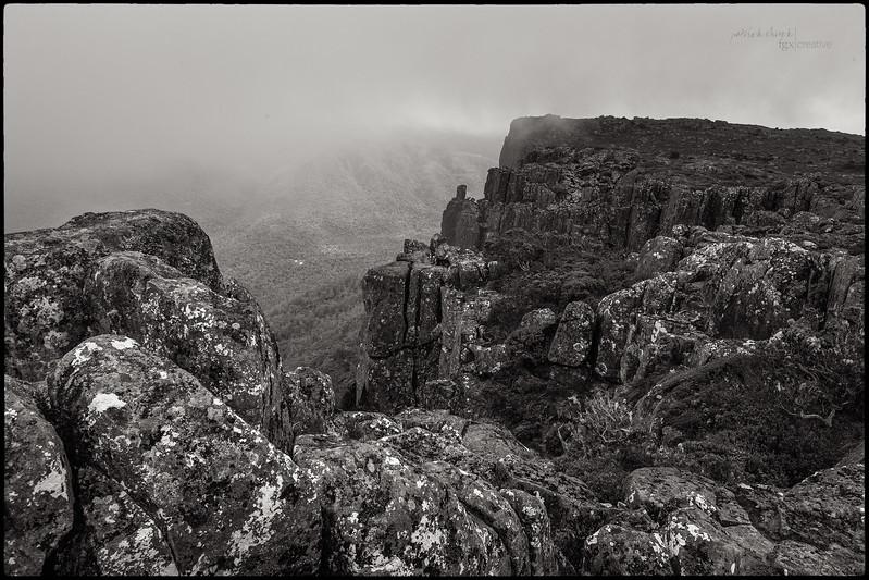 Walking Along the Cliffs of Mount Oakleigh