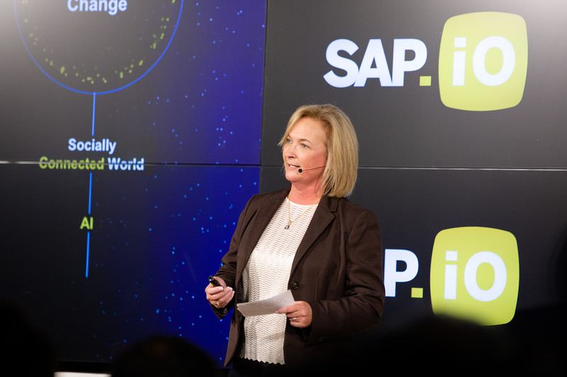 #demoday #SAPiOSF @Sap_iO Pamela Marion SVP Head of Strategic Programs and Chief of Staff at SAP SuccessFactors