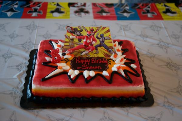 Shawn's 5th Birthday Party