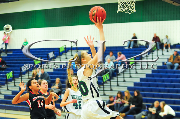 1-29-2014 Heritage at Woodgrove Girls Basketball (JV)