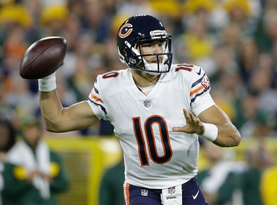 09092018 Mitchell Trubisky vs. Packers