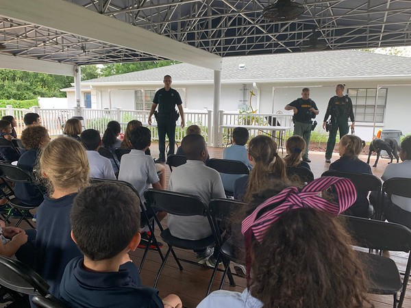 Sheriff Nocco & K9 Unit Visit to 3rd and 4th Grade