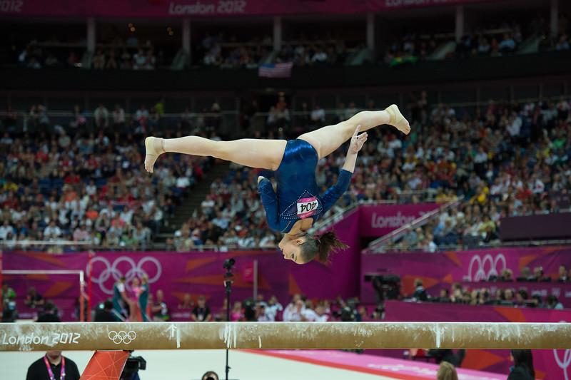 __02.08.2012_London Olympics_Photographer: Christian Valtanen_London_Olympics__02.08.2012__ND43775_final, gymnastics, women_Photo-ChristianValtanen