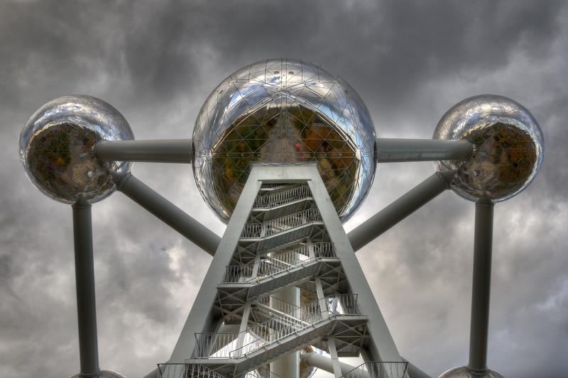 Atomium - Bruxelles, Belgium - October 31, 2010
