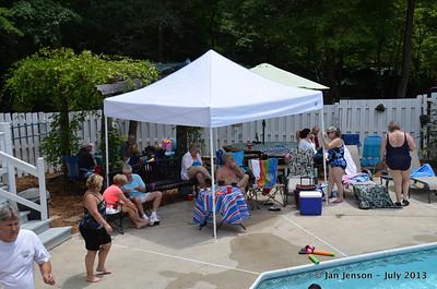 Ken Dukes & Carolina Players @ Sharon Decker's July 4th party