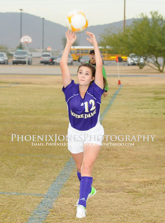 12-6-12 - Notre Dame vs Copper Canyon (Deer Valley Tourney - 4pm)