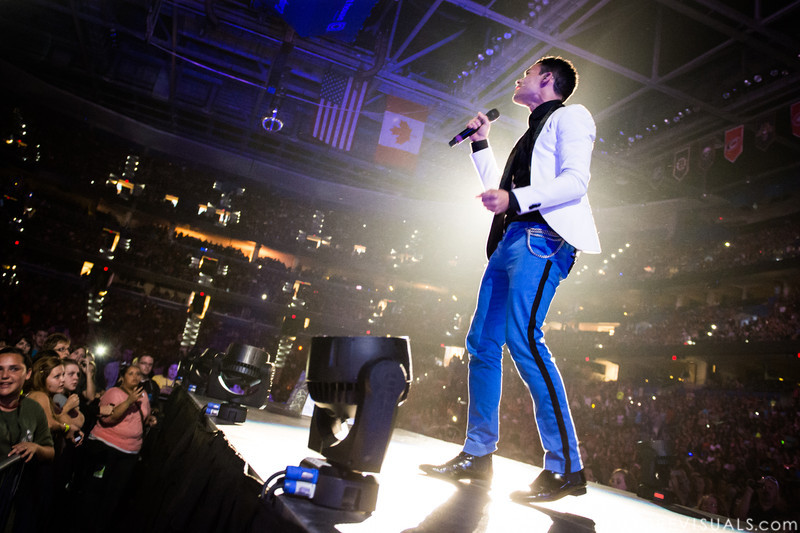 Royal Tailor perform on January 12, 2013 during Winter Jam at Tampa Bay Times Forum in Tampa, Florida