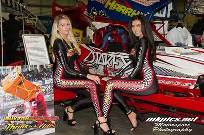 Buxton Raceway Grid Girls at MWA