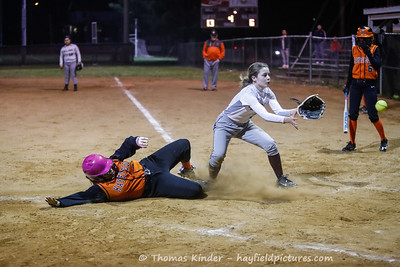 JV Softball v Mount Vernon 3/29/19