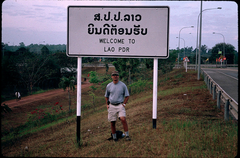 leaving Laos for Thailand