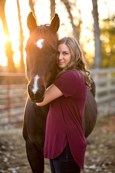 Jenny and Mabel- Equine