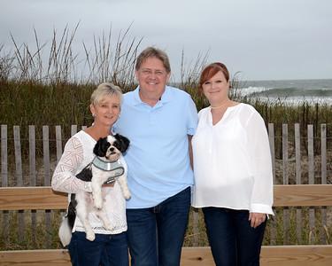 Bosler Family Beach Portraits Oct. 5, 2018