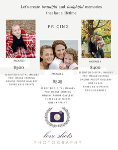 Pricing/Packages