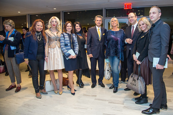 Inter-Art International Exhibition Towards Progress at the United Nations Headquarters in New York - December 8, 2015
