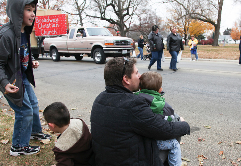 We went to the Mattoon Holiday Parade on Broadway Avenue in Mattoon, Illinois on Saturday, November 20, 2010.  (Jay Grabiec)