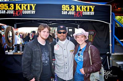 KRTY- Kenny Chesney at Shoreline 2011