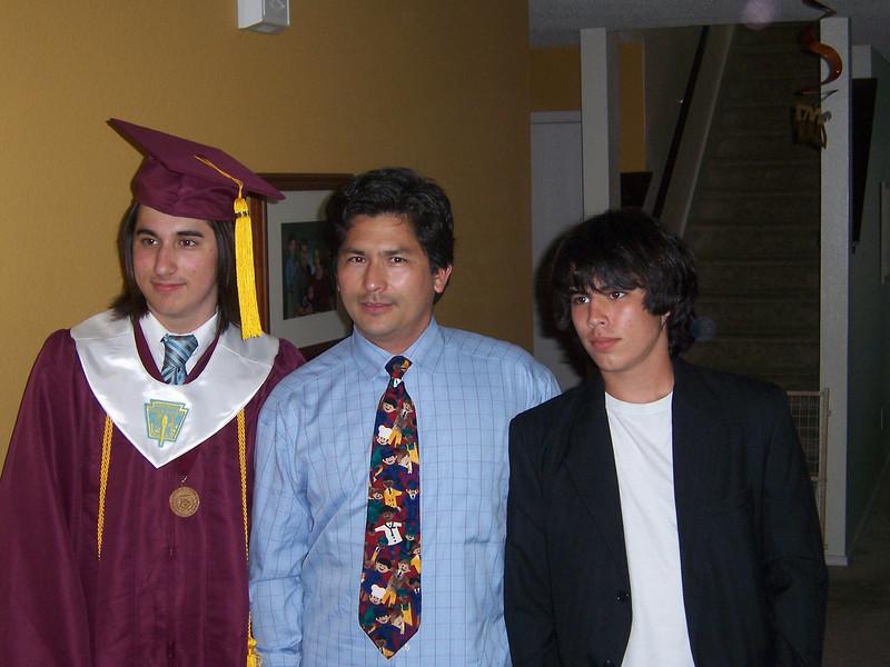 Alex, Max, and Dad Claudio.