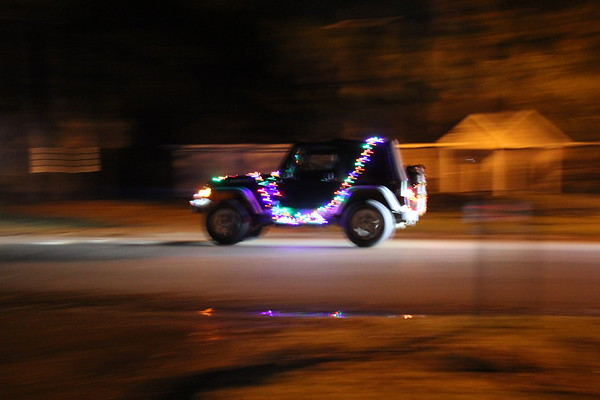 Jeep Christmas Parade Madison