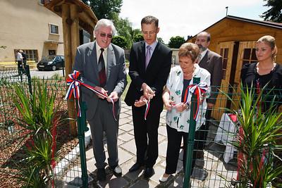 Vrt čutil, otvoritev, 23. junij 2010