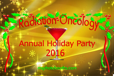2016-12-03 Radiation Oncology Holiday Party