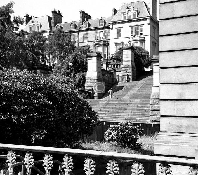 The Park Steps.  June 1975