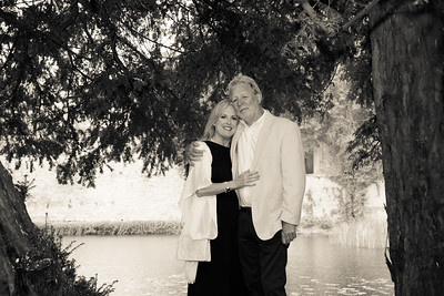 Wedding Anniversary Portraits at Le Manoir Aux Quat' Saisons