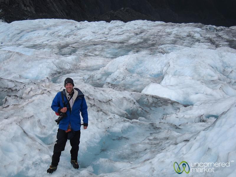 Dan at Franz Josef Glacier - South Island, New Zealand