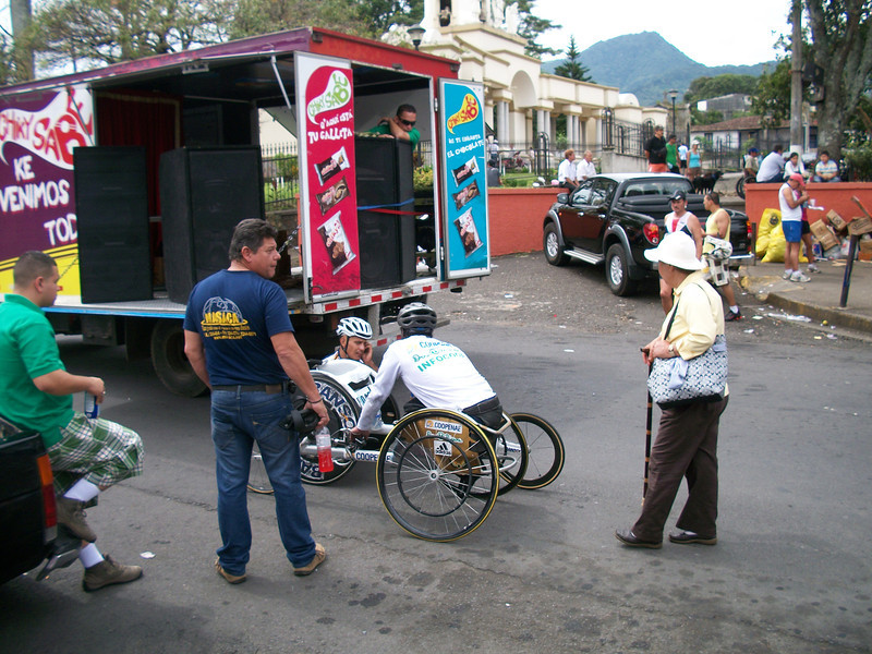 """The Escazu Bruja Marathon - Sept. 11, 2011  I LOVE seeing people that in the face of adversity - GO FOR LIFE!!!!!  There were numerous people missing limbs/with what many would see as physical """"challenges"""" - yet they were LIVING LIFE to the MAX!!"""